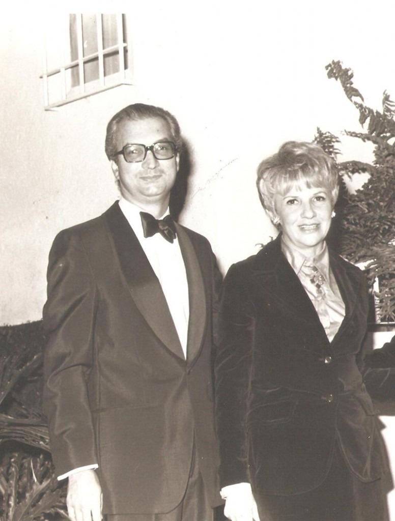Sofia Imber y Carlos Rangel