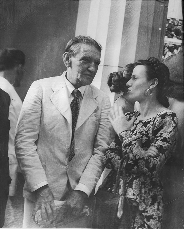 Sofía Ímber con Armando Reverón